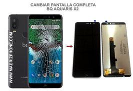 Cambiar / Reparar pantalla completa BQ Aquaris X2