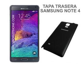 Cambiar / Reemplazar Tapa trasera Samsung Galaxy NOTE 4 SM-N910F