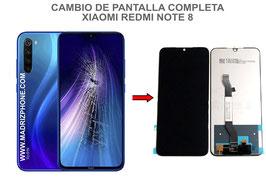 Cambiar / Reparar pantalla completa Xiaomi Redmi Note 8 ( M1908C3JG )