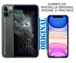 Cambiar / Reparar Pantalla Completa Apple iPHONE 11 PRO MAX Original