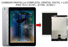 Cambiar / Reparar Pantalla Completa. Cristal tacti + lcd interna Apple ipad Pro 10.5 ( A1701 , A1709 , A1852 )