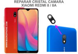 Cambiar / Reemplazo Cristal camara trasera Xiaomi Redmi 8 / 8A
