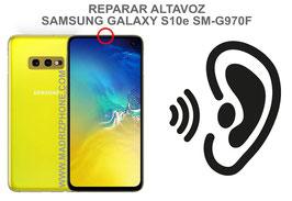 Cambiar / Reparar Altavoz Auricular Samsung Galaxy S10e SM-G970F