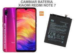 Cambiar / Sustituir Bateria Xiaomi Redmi Note 7  ( M1901F7G )