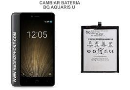 Cambiar / Sustituir Bateria BQ AQUARIS U Calidad Premium