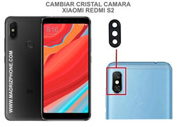 Cambiar / Sustituir Cristal camara trasera Xiaomi Redmi S2