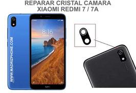 Cambiar / Reparar Cristal camara trasera Xiaomi Redmi 7 / 7A ( M1903C3EC , M1810F6LG )