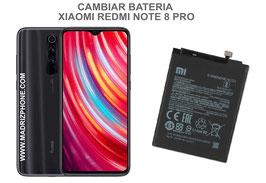 Cambiar / Sustituir Bateria Xiaomi Redmi Note 8 Pro ( M1906G7G )