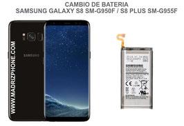 Cambiar / Reparar Bateria Samsung Galaxy S8 G950f / S8 Plus G955f
