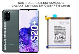 Cambiar / Reemplazo Bateria Samsung Galaxy S20 PLUS SM-G985F / SM-G986B (s20+)