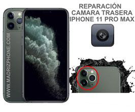 Cambiar / Reparar Camara Trasera iPHONE 11 PRO MAX (ORIGINAL)