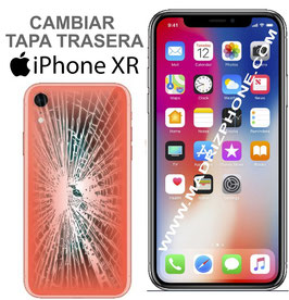 Cambiar Cristal / Reparar Tapa Trasera APPLE iPHONE XR