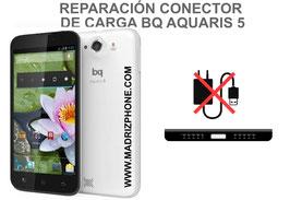 Cambiar / Reparar Conector de Carga BQ AQUARIS 5 / Fnac Phablet 5