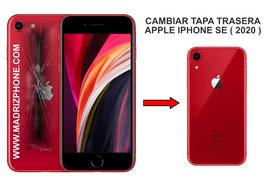 Cambiar Cristal / Reparar Tapa Trasera Apple iPHONE SE 2020