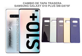 Cambiar / Reparar Tapa de cristal Trasera Samsung Galaxy S10 Plus SM-G975F ( S10+)