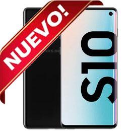 SAMSUNG GALAXY S10 128GB NEGRO LIBRE NUEVO PRECINTADO