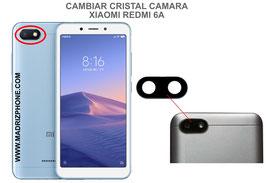Cambiar / Reparar Cristal camara trasera Xiaomi Redmi 6A