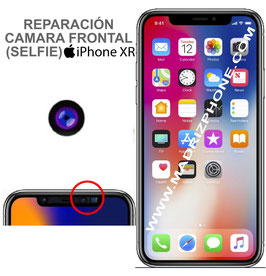 Cambiar / Reparar Camara Delantera Selfie APPLE iPHONE XR  (ORIGINAL)