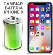 Cambiar / Sustitucion Bateria Apple  iPHONE X  (ORIGINAL)