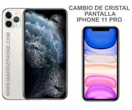 Cambiar / Reparar Cristal de la Pantalla Apple iPHONE 11 PRO