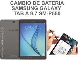 Cambiar / Reemplazar Bateria Samsung Galaxy TAB A 9.7 SM-P550 - P551 -P555