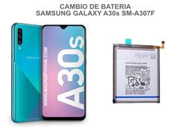 Cambiar / Sustitucion Bateria Samsung Galaxy A30s SM-A307F