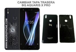 Cambiar / Sustituir Tapa trasera BQ AQUARIS X PRO