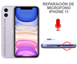 Reparar / Cambiar Microfono  Apple iPHONE 11