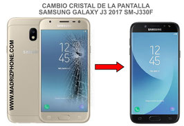 Cambiar / Reparar Cristal de lapantalla SAMSUNG GALAXY J3 2017 SM-J330F