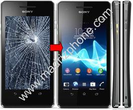 Cambio de PANTALLA COMPLETA Sony Xperia V LT25i Original.