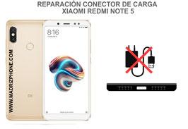 Cambiar / Reparar Conector de Carga Xiaomi Redmi Note 5