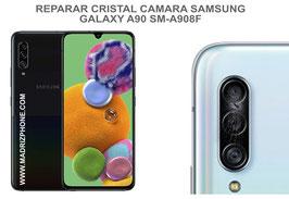 Cambiar / Reparar Cristal camara trasera Samsung Galaxy A90 G5 SM-A908F