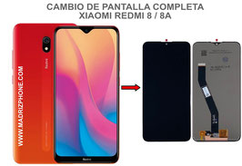 Cambiar / Reparar  pantalla completa Xiaomi Redmi 8 / 8A