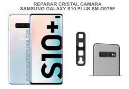 Cambiar / Reparar Cristal camara trasera Samsung Galaxy S10 Plus SM-G975F ( S10+)