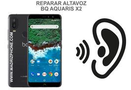 Cambiar / Reparar Altavoz Auricular BQ AQUARIS X2