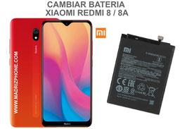 Cambiar / Sustitución Bateria Xiaomi Redmi 8 / 8A
