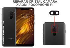 Cambiar / Reparar Cristal camara trasera Xiaomi PocoPhone F1 ( POCO PHONE )
