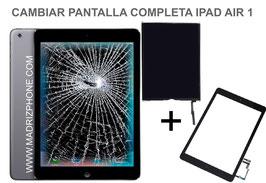 Cambiar / Reparar Pantalla Completa Cristal Tactil + LCD (Interna) Apple Ipad Air 1  ( A1474 , A1475 , A1476 )