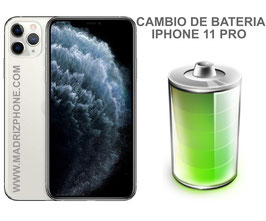Cambiar / Reemplazo Bateria Apple  iPHONE 11 PRO