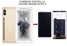 Cambiar / Reparar pantalla completa Xiaomi Redmi Note 5