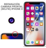 Cambiar Camara Delantera Selfie Apple iPHONE X  (ORIGINAL)