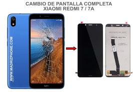 Cambiar / Reparar pantalla completa Xiaomi Redmi 7 / 7A ( M1903C3EC , M1810F6LG )