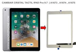Cambiar/Reparar Cristal Táctil Apple ipad Pro 9.7  ( A1673 , A1674 , A1675 )