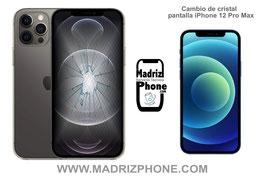Cambiar / Reparar Cristal de la Pantalla Apple iPhone 12 Pro Max