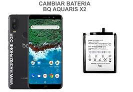 Cambiar / Sustituir Bateria BQ AQUARIS X2 Calidad Premium