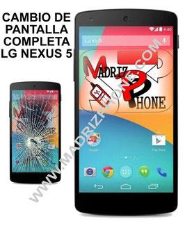Cambiar Pantalla Completa LG NEXUS 5 D820 & D821 Calidad Original