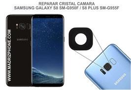 Cambiar / Remplazo Cristal camara trasera Samsung Galaxy  S8 G950f / S8 Plus G955f