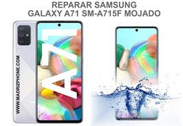 Reparación / Recuperación  Samsung Galaxy A71 SM-A715F Mojado