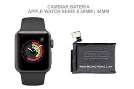 Cambiar / Reparar Batería APPLE WATCH Serie 5 40MM / 44MM