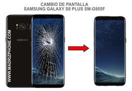 Cambiar / Reparar pantalla completa Samsung Galaxy S8 Plus SM-G955f